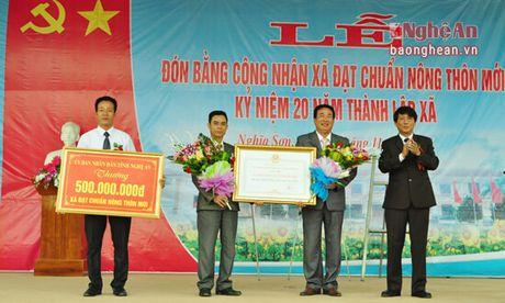 Xa Nghia Son (Nghia Dan) dau tu 96,3 ty dong xay dung Nong thon moi - Anh 2