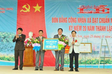 Xa Nghia Son (Nghia Dan) dau tu 96,3 ty dong xay dung Nong thon moi - Anh 3