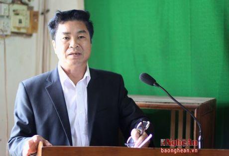 Thanh Chuong: Cu tri kien nghi can day nhanh du an de Luong-Yen-Khai - Anh 1