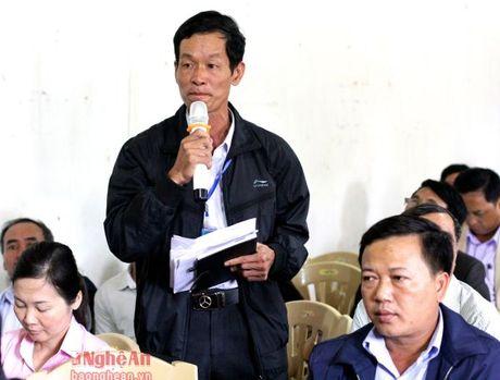 Thanh Chuong: Cu tri kien nghi can day nhanh du an de Luong-Yen-Khai - Anh 2
