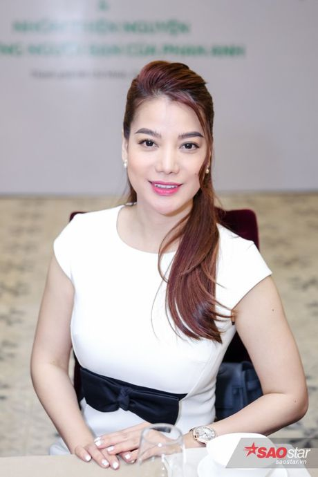Chi Bao: 'Nhin Phan Anh moi thay lam nguoi noi tieng kho lam' - Anh 9