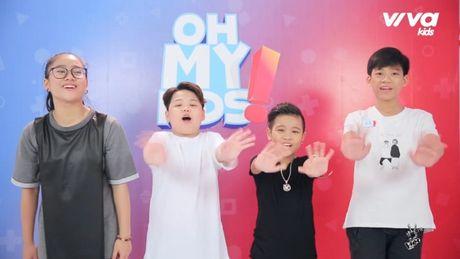Oh My Kids! #11: Nhat Minh bat ngo bi che… 'hat khong ra gi' - Anh 1