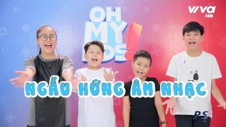 Oh My Kids! #11: Nhat Minh bat ngo bi che… 'hat khong ra gi' - Anh 2