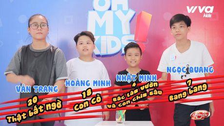Oh My Kids! #11: Nhat Minh bat ngo bi che… 'hat khong ra gi' - Anh 3