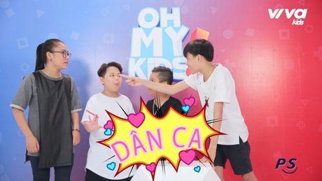Oh My Kids! #11: Nhat Minh bat ngo bi che… 'hat khong ra gi' - Anh 4