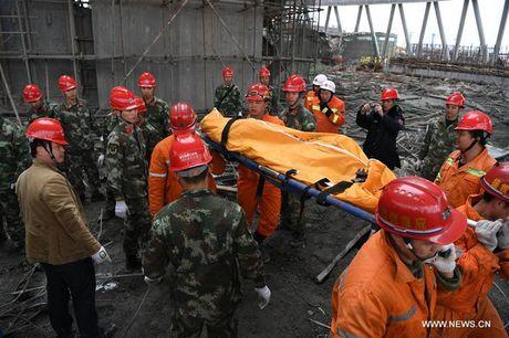 Hien truong vu sap cong trinh nha may dien o Trung Quoc, 67 nguoi chet - Anh 13