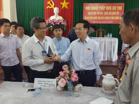 Truong ban Tuyen giao T.U Vo Van Thuong: 'Dat minh vao vi tri cua dan' - Anh 1