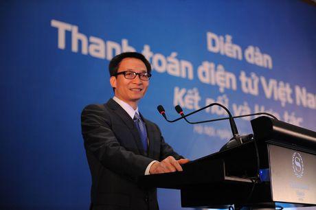 Pho Thu tuong Vu Duc Dam: Thanh toan dien tu con han che do chua co giai phap thay doi thoi quen dung tien mat - Anh 1