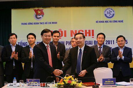 Bo KH&CN va Trung uong Doan cung ho tro thanh nien khoi nghiep - Anh 2