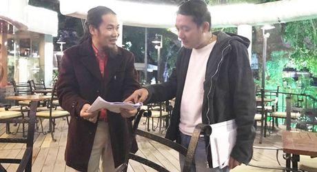 Chien Thang lan dau lo dien sau chia tay ban gai kem 18 tuoi - Anh 1