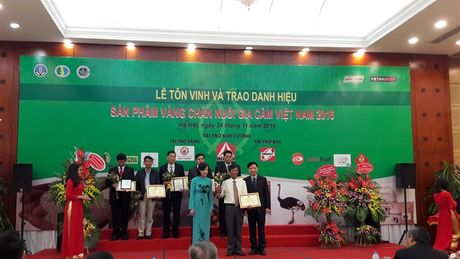 'San pham Vang chan nuoi gia cam Viet Nam' vinh danh 32 san pham - Anh 3