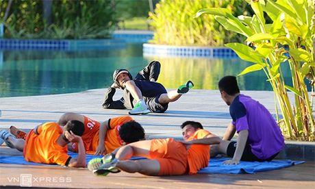 Tuyen Viet Nam doi ke hoach, ve TP HCM cho da ban ket AFF Cup - Anh 1