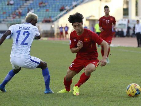 HLV Le Thuy Hai: 'Messi Campuchia' chang dang de Viet Nam phai nghi - Anh 1
