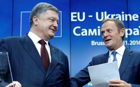 EU tai cam ket ung ho Ukraine du van con nhieu van de can giai quyet - Anh 1