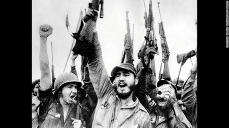 Nhung hinh anh an tuong nhat ve Nha cach mang Fidel Castro - Anh 3