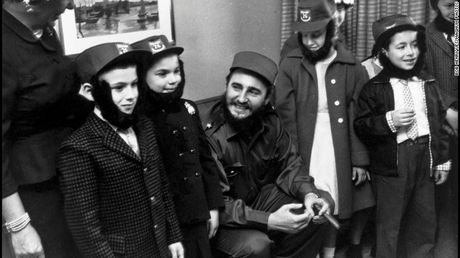 Nhung hinh anh an tuong nhat ve Nha cach mang Fidel Castro - Anh 4