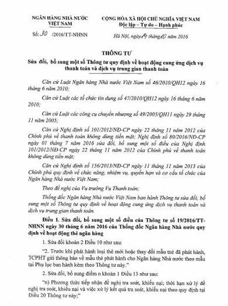 Tien boc hoi trong tai khoan, NHNN ra quyet sach - Anh 1