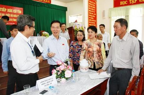 Ong Vo Van Thuong: Giai quyet cho dan phai lam nhanh - Anh 1