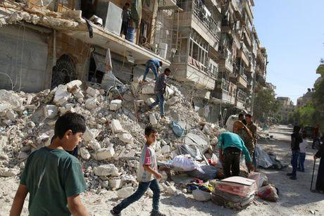 Tinh canh khon kho cua nguoi dan Aleppo trong chien tranh - Anh 13