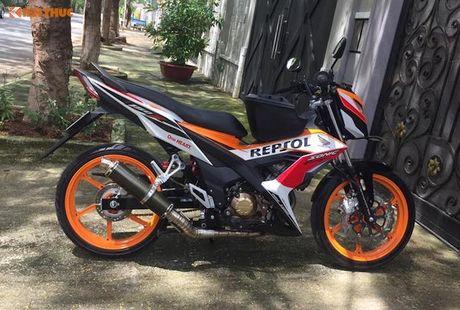 Honda Sonic 150R do 'dan chan' doc nhat Viet Nam - Anh 1