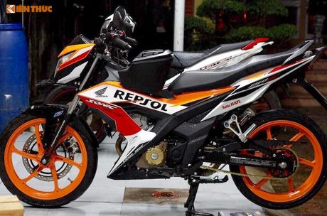 Honda Sonic 150R do 'dan chan' doc nhat Viet Nam - Anh 2