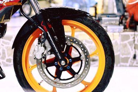 Honda Sonic 150R do 'dan chan' doc nhat Viet Nam - Anh 3
