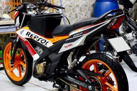 Honda Sonic 150R do 'dan chan' doc nhat Viet Nam - Anh 6