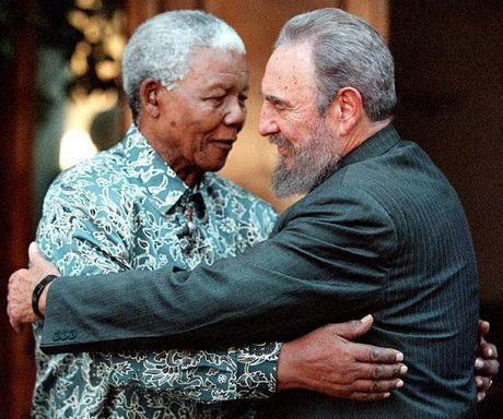 Hinh anh dang nho ve lanh tu Cuba Fidel Castro - Anh 10
