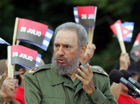 Hinh anh dang nho ve lanh tu Cuba Fidel Castro - Anh 12