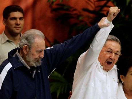 Hinh anh dang nho ve lanh tu Cuba Fidel Castro - Anh 6