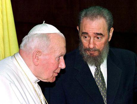 Hinh anh dang nho ve lanh tu Cuba Fidel Castro - Anh 9