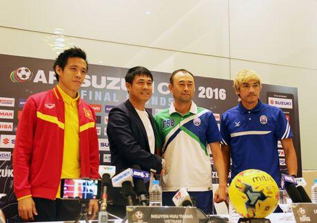 AFF Suzuki Cup 2016: Doi tuyen Viet Nam than trong truoc Campuchia - Anh 2
