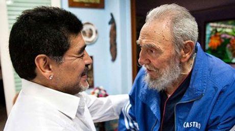 Vinh biet Chu tich Fidel Castro, mot chinh tri gia yeu bong da - Anh 3