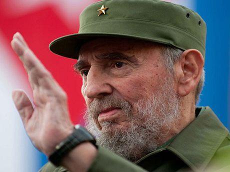 Lanh dao the gioi tiec thuong su ra di cua huyen thoai Fidel Castro - Anh 1