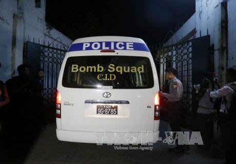 Myanmar bat 3 nghi can dinh liu loat vu no o Yangon - Anh 1