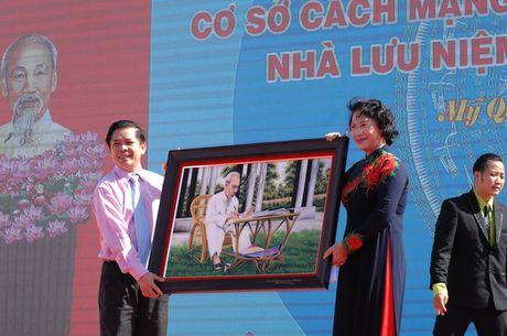 Soc Trang khanh thanh cong trinh co so cach mang xa My Quoi - Anh 4