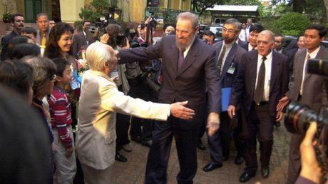 Lanh tu Cuba Fidel Castro va nhung chuyen tham toi Viet Nam - Anh 4