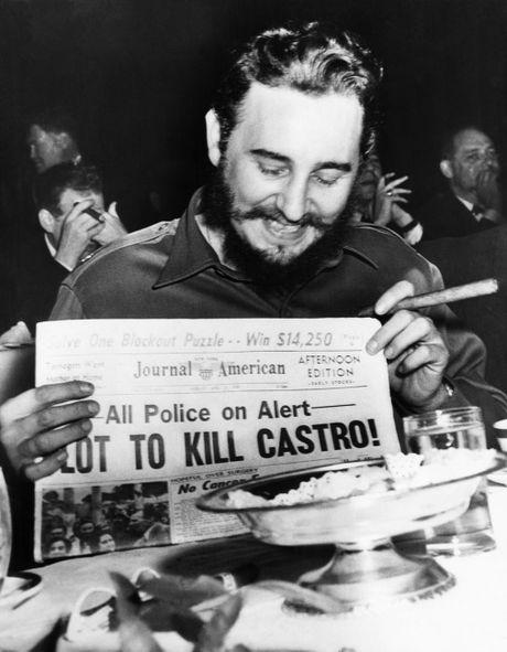 Cuoc doi day mau sac cua Cuu Chu tich Cuba Fidel Castro - Anh 7