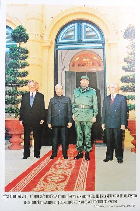 Nhung hinh anh khong the nao quen khi Fidel Castro den Viet Nam - Anh 9