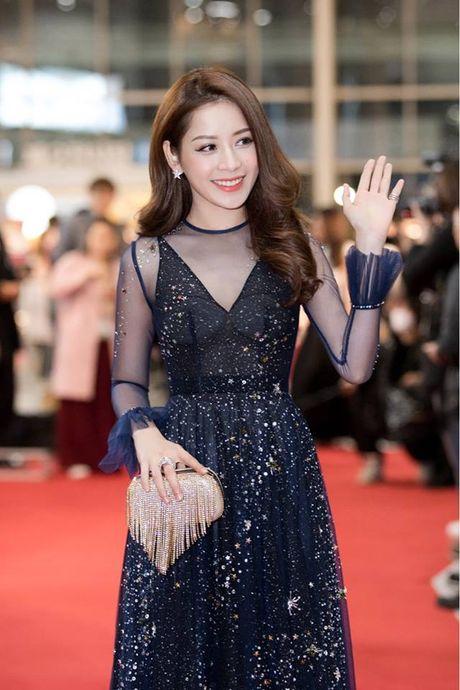 Vo chong Ly Hai-Minh Ha, Chi Pu gay an tuong tren tham do WebTV Asia Awards 2016 - Anh 2