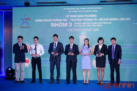 Vietnam CDN duoc Tp.HCM trao giai ICT Awards 2016 - Anh 1