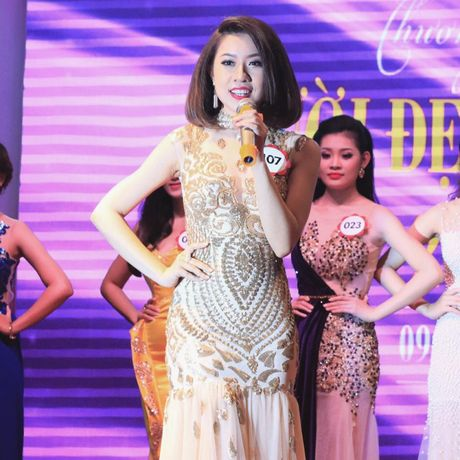 "Dau la ly do Thao Nhi dang quang hoa khoi ""Nguoi dep cong so 2016""? - Anh 5"