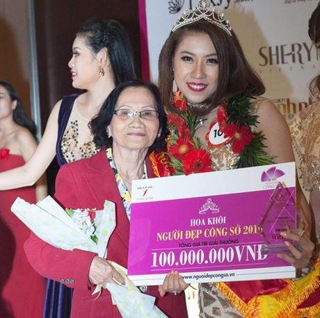 "Dau la ly do Thao Nhi dang quang hoa khoi ""Nguoi dep cong so 2016""? - Anh 6"