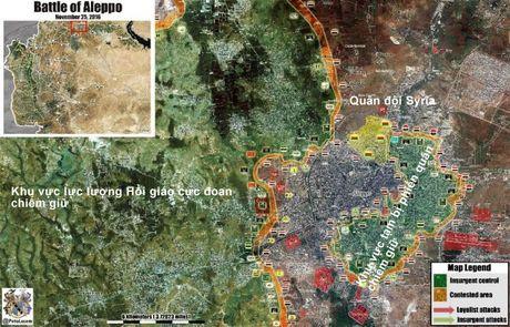 Video chien su Aleppo: Quan doi Syria quet sach phien quan tai quan then chot - Anh 1