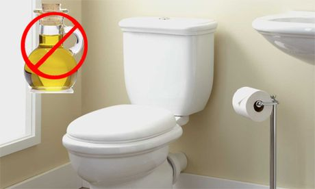 Ly do ban khong duoc do thuc an dau mo vao toilet - Anh 1
