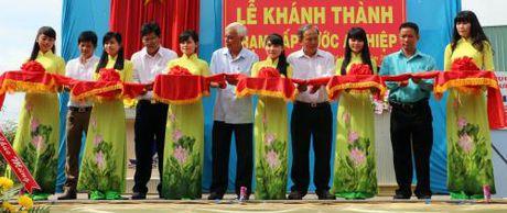 Bien dao Viet Nam: Khanh thanh Tram cap nuoc cho huyen ven bien tinh Ben Tre - Anh 1