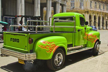 Xe co ve dau khi My-Cuba binh thuong hoa quan he - Anh 6