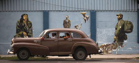 Xe co ve dau khi My-Cuba binh thuong hoa quan he - Anh 8