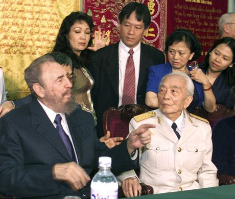 Lanh tu Fidel Castro va moi than tinh voi Viet Nam - Anh 6