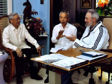 Lanh tu Fidel Castro va moi than tinh voi Viet Nam - Anh 7